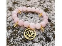 Inšpirácia: Náramok lotosový kvet