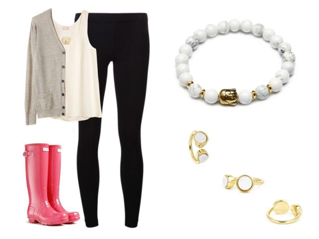 Outfit: Pripravená do dažďa