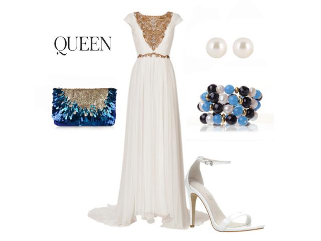 Outfit: Perlová kráľovná