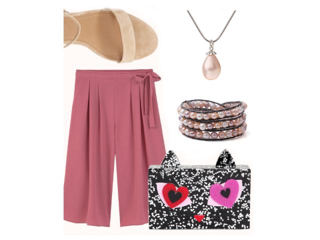Outfit: Letný podvečerný drink