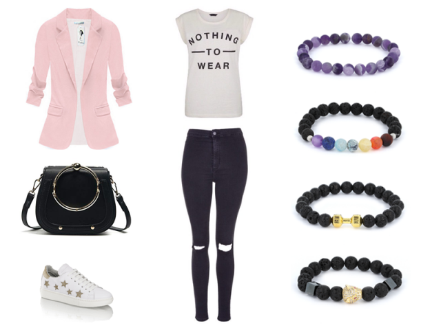 Outfit: Elegancia s teniskami