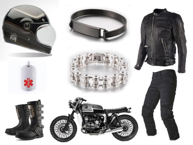 Outfit: Pánsky motorkársky outfit