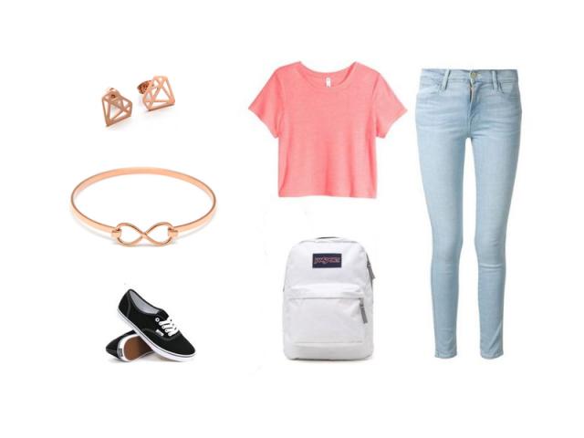 Outfit: Do školy