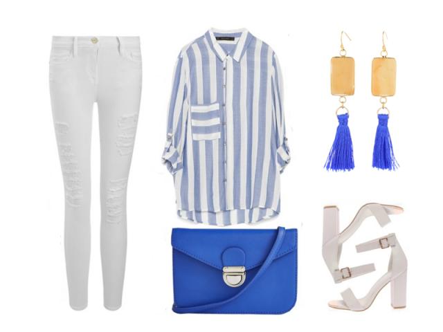 Outfit: Kráľovská modrá