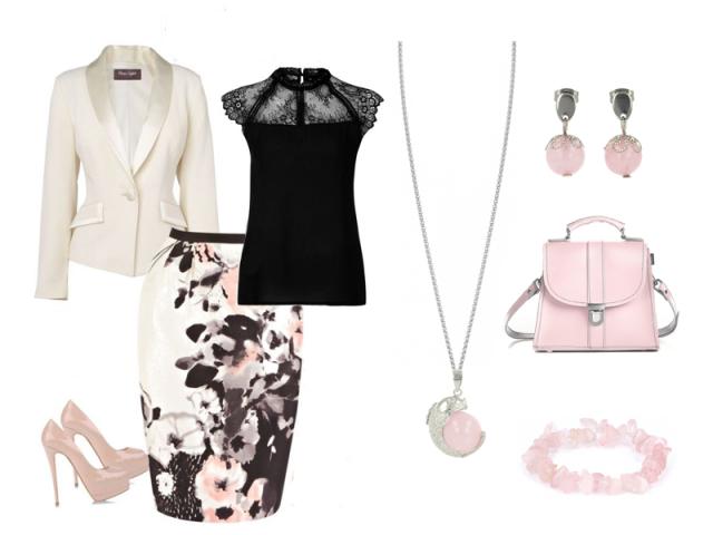 Outfit: Ruženín - kameň lásky