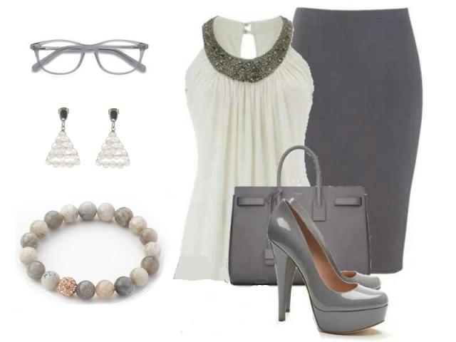 Outfit: Zažiarte v šedej