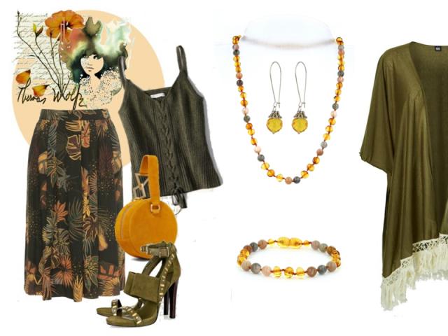 Outfit: Svieža jesenná žltá