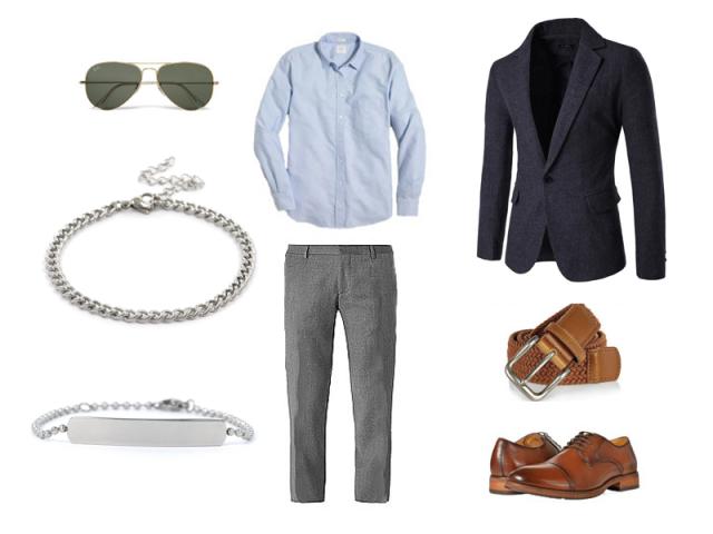 "Outfit: Pánsky ""smart casual"""
