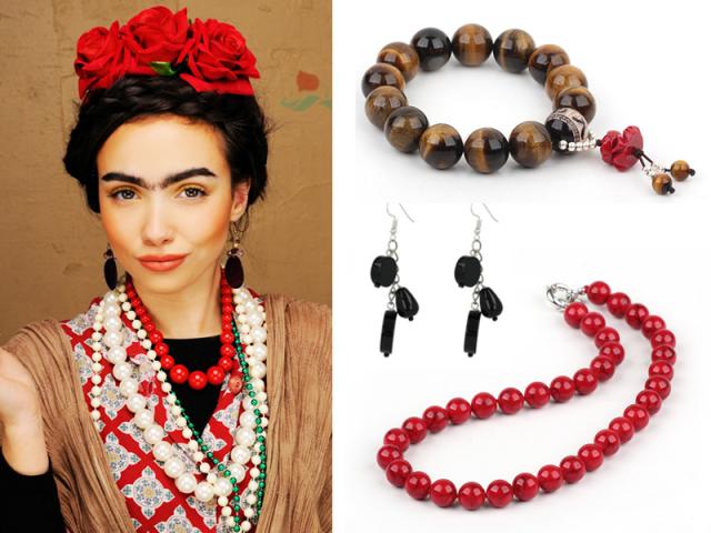 """Outfit: V štýle """"Frida Kahlo"""""""