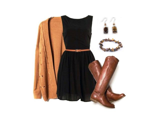 Outfit: Hnedá je dobrá