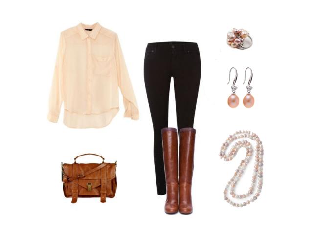 Outfit: Jarná romantika