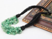Viacprameňový náhrdelník avanturín