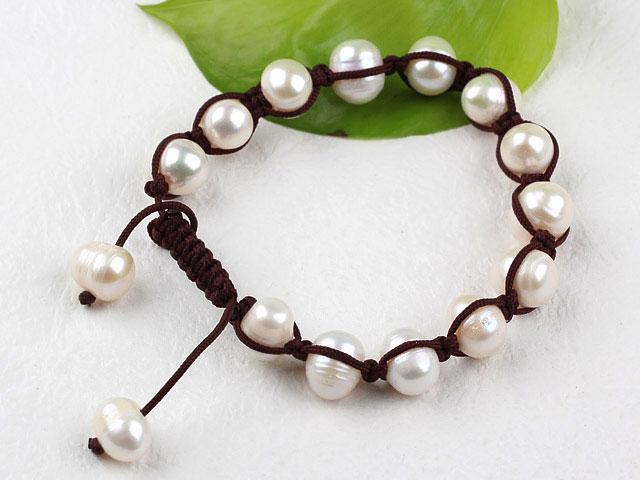 Shamballa náramok riečna perla