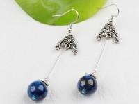 Náušnice lapis lazuli