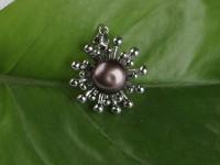 Prívesok čierna riečna perla II (bez retiazky)