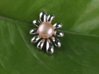 Prívesok fialová riečna perla (bez retiazky)