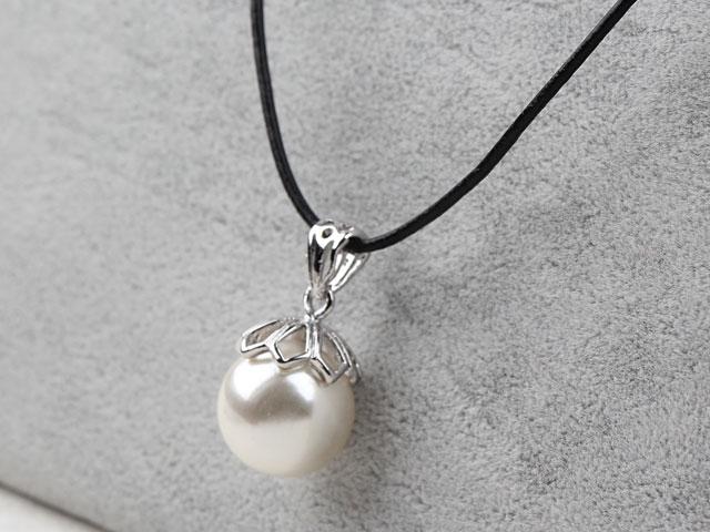 Náhrdelník s príveskom shell perla