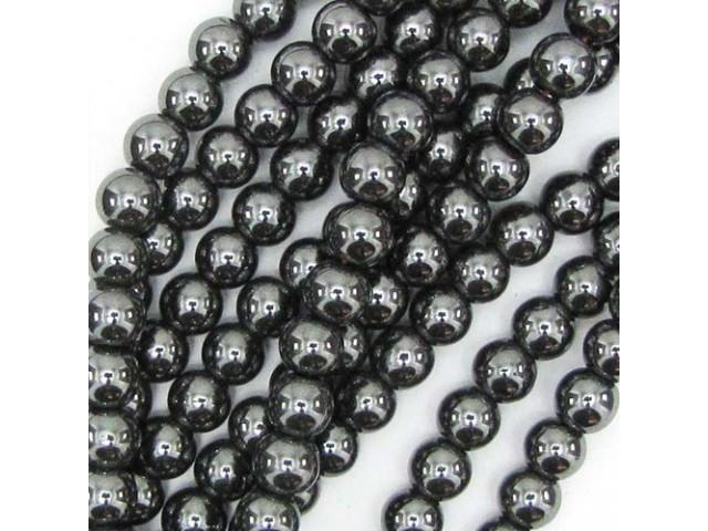 Hematit - čierny 6mm