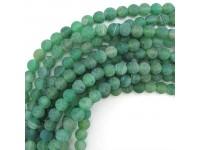 Achát - zelený frost 10mm