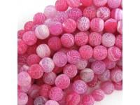 Achát - ružový frost 8mm