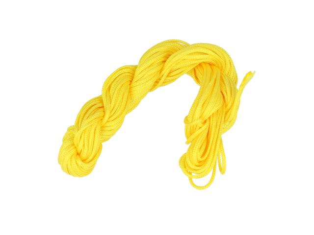 Šnúrka - žltá 1mm