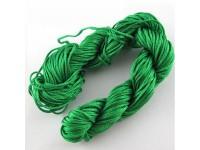 Šnúrka - zelená 1,5mm