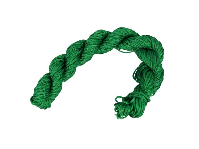 Šnúrka - zelená 1mm