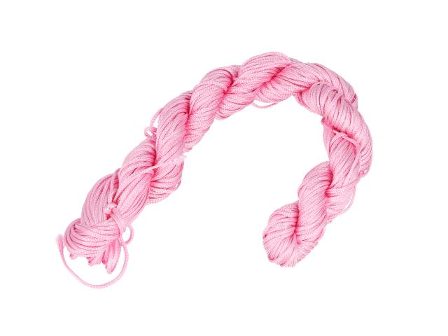 Šnúrka - ružová 1mm