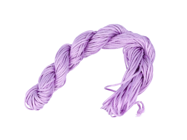 Šnúrka - fialová 1mm