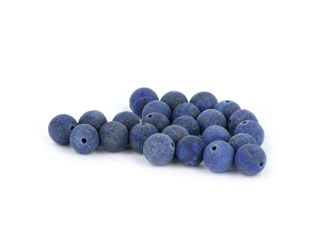 Lapis lazuli frost 10mm