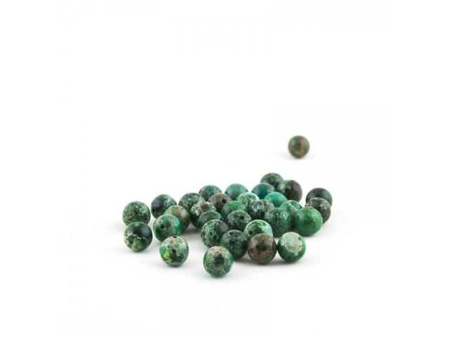 Zelený imperial jaspis 8mm