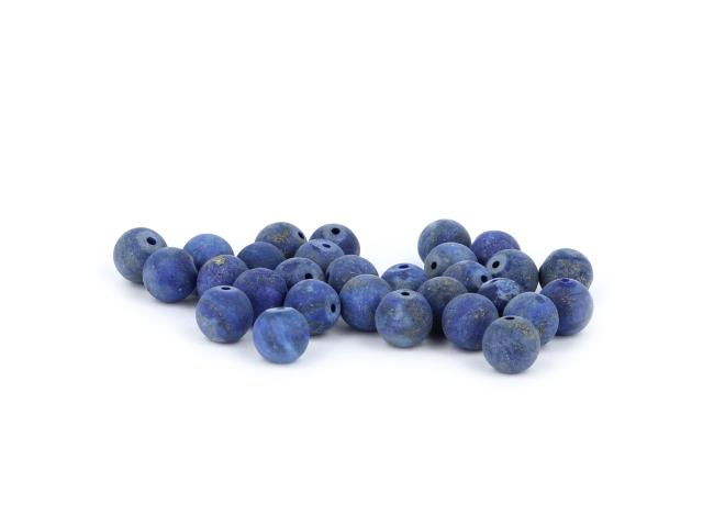 Lapis lazuli frost 8mm