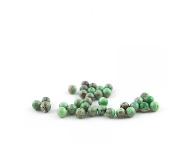 Zelený imperial jaspis 6mm