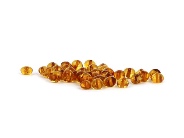Jantár medový 4-6mm