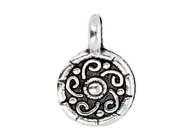 Kovový prívesok - amulet - starostrieborná