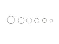 Box - spojovacie krúžky dvojité 4-10mm