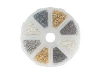 Box - spojovacie krúžky 7mm - rôzne farby
