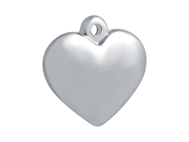 Prívesok z chirurgickej ocele - srdce