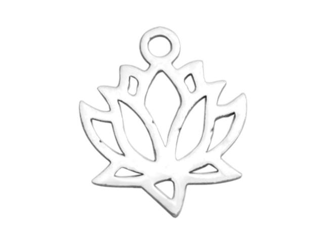 Prívesok z chirurgickej ocele - lotos