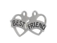 Prívesok z chirurgickej ocele Best friend