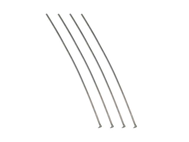 Ketlovací nit 7cm - gunmetal (bal. 10g, cca 30ks)