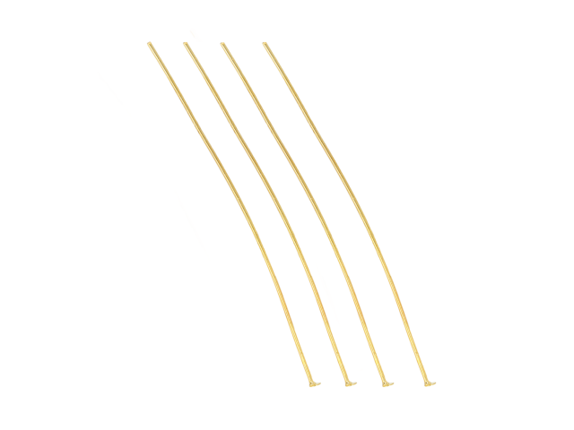 Ketlovací nit 7cm - zlatá (bal. 10g, cca 30ks)
