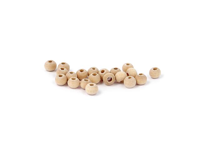 Okrúhla drevená korálka 5-6mm