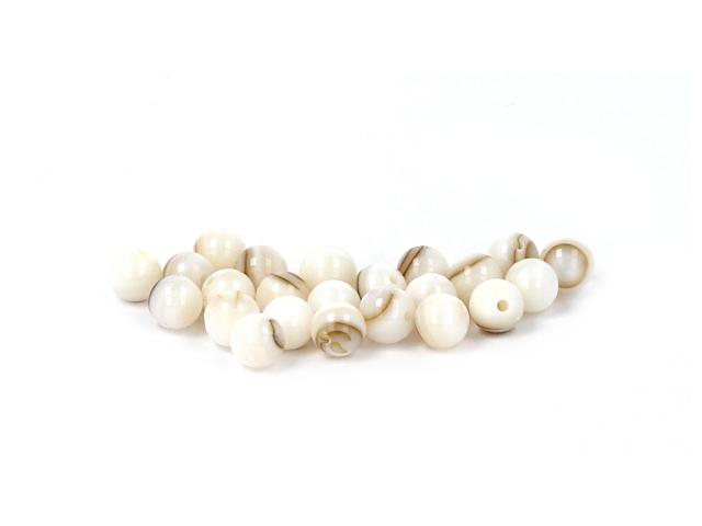 Hnedá perleť 6mm