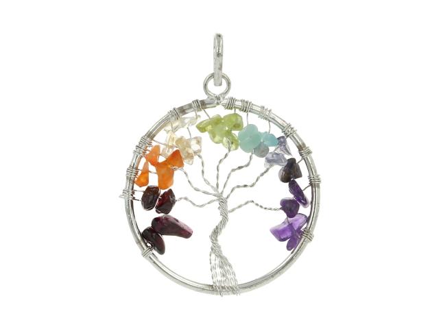 Prívesok čakra - strom života