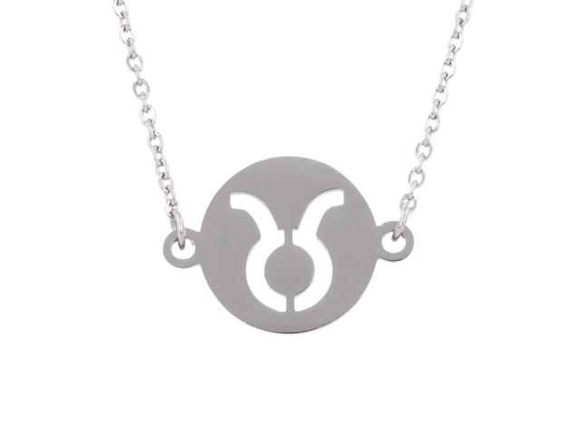 Oceľový náhrdelník - býk