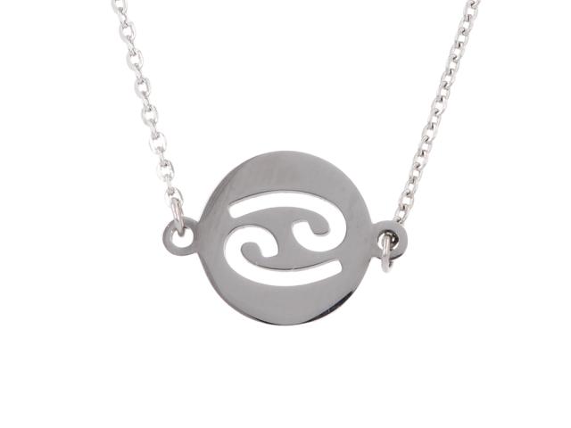 Oceľový náhrdelník - rak