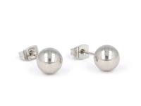 Oceľovo-kožená súprava náhrdelník, náramok a náušnice - strom