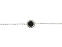 Oceľová súprava náhrdelník, náramok a náušnice Dial