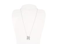 Oceľová súprava náhrdelník a náušnice - zaľúbená dvojica